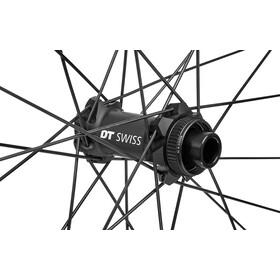"""DT Swiss E 1900 Spline Voorwiel 27,5"""" CL Alu 100/15 mm TA DB 30 mm, zwart/wit"""